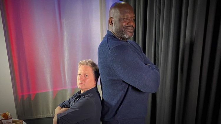 Shaquille O'Neal in Seattle: The exclusive interview
