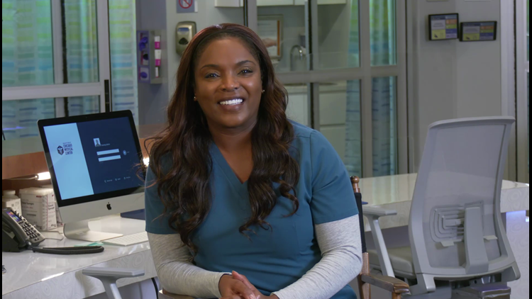 Chicago Med star brings real-life inspiration to her role
