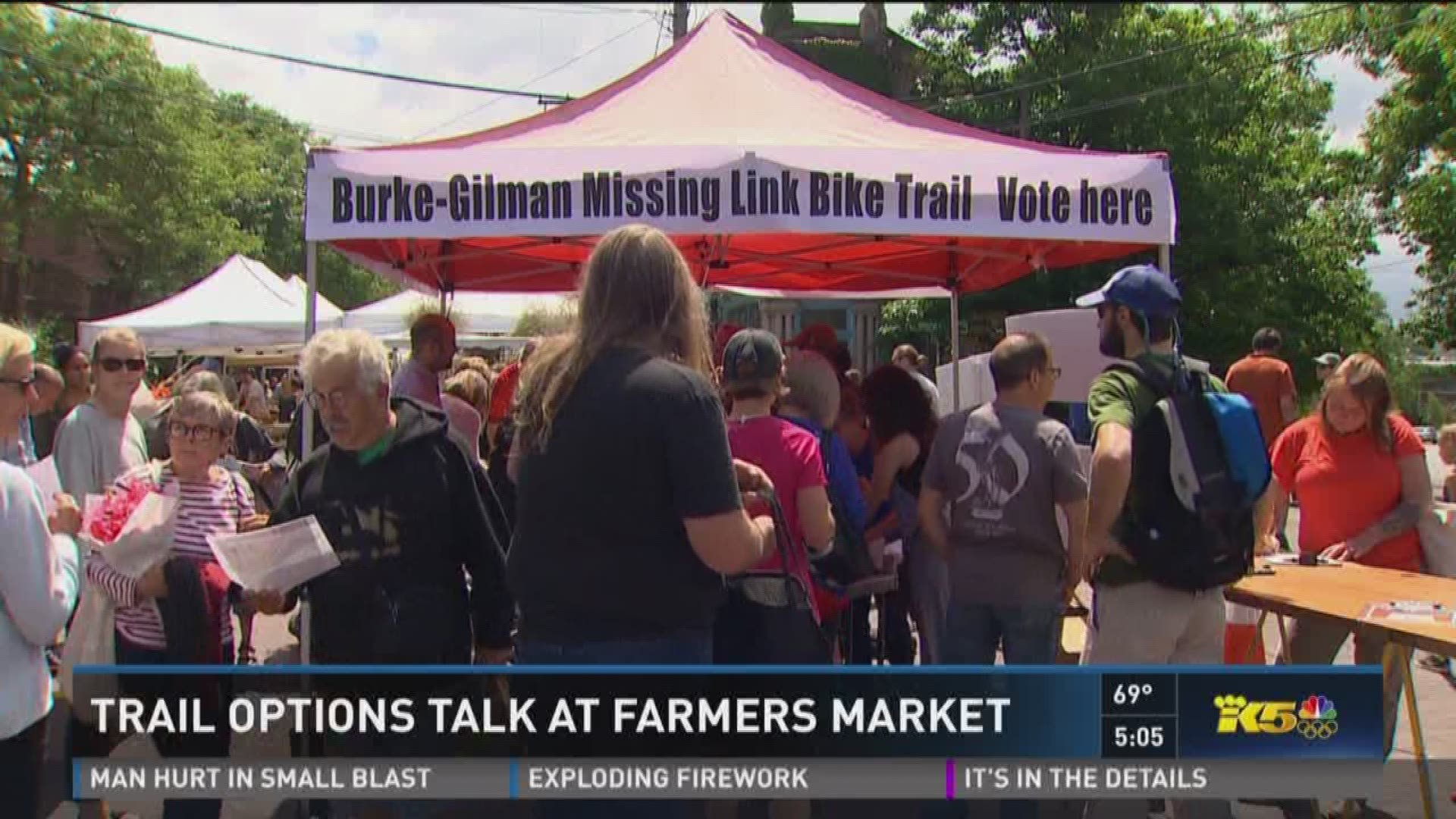 Ballard Farmers Market Raises Concern About Missing Link Option King5 Com