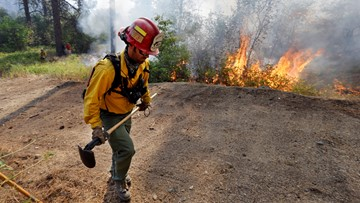 Wildfire risk expected to rise after Washington 'blessed' by cool, wet July