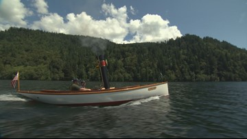 Full steam ahead! This water-powered boat from the PNW is a movie star