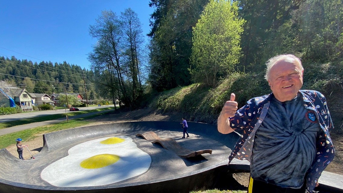 Bacon and Eggs skatepark putting Wilkeson on the map