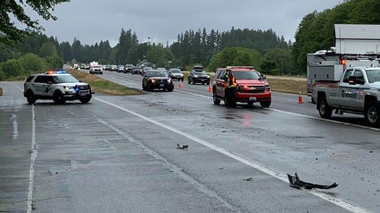 Wrong-way driver causes serious-injury crash near Port Orchard