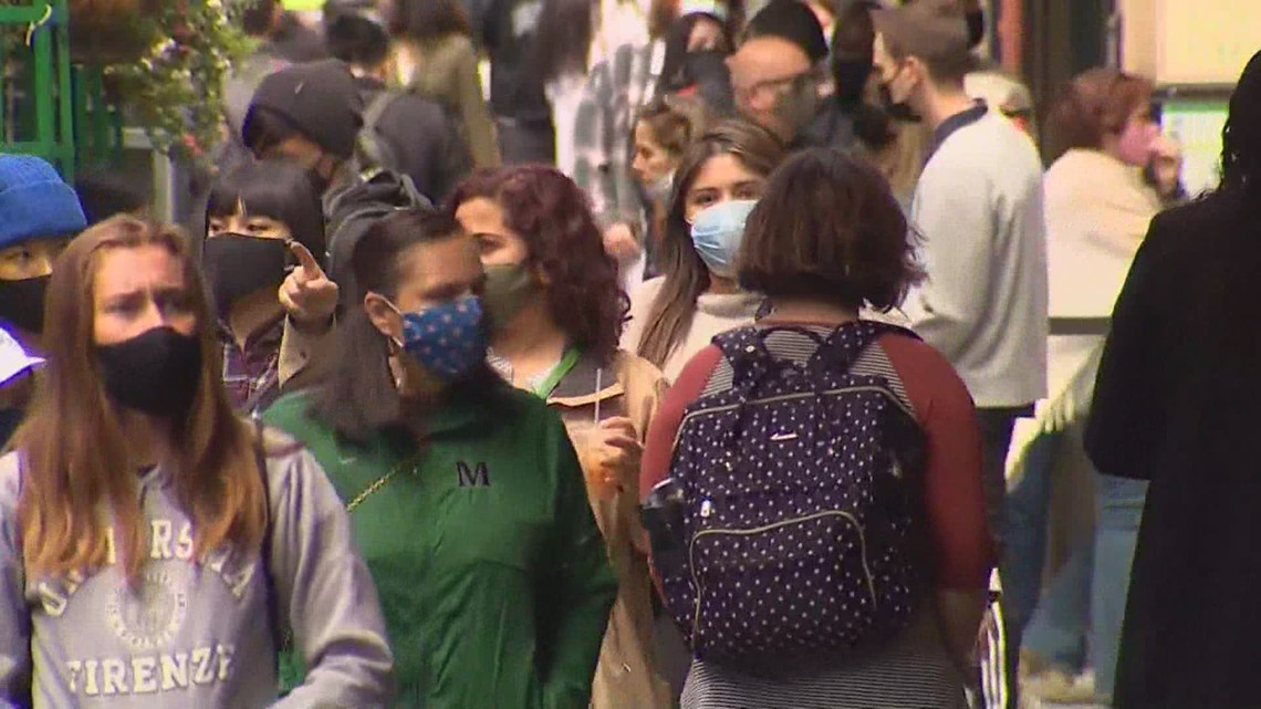 More Washington counties recommend masks indoors as delta variant surges
