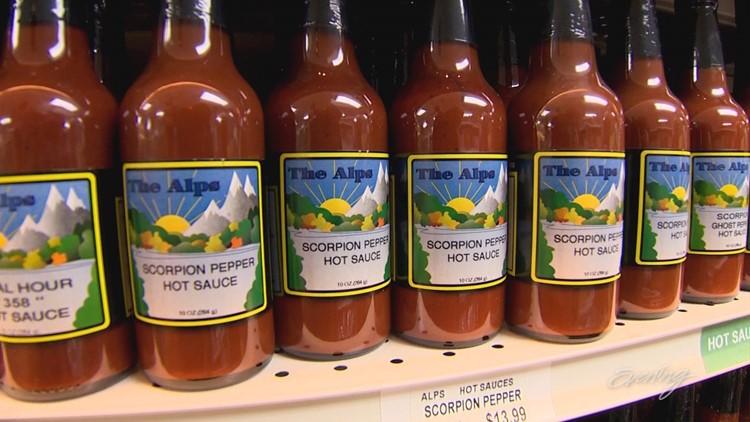 The Alps Treat Shop Hot Sauce