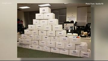 Seattle police return $70,000 in stolen merchandise to 29 downtown retailers