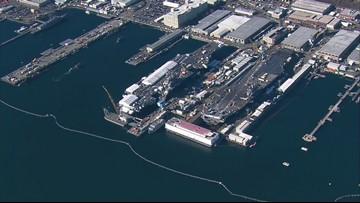 4,000 gallons of sewage spilled at Puget Sound Naval Shipyard