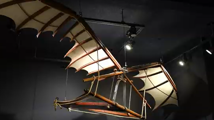 Interactive Leonardo Da Vinci exhibit comes to Seattle's Museum of History & Industry