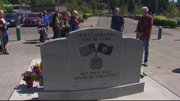 Bothell friends fulfill Memorial Day commitment after 50 years