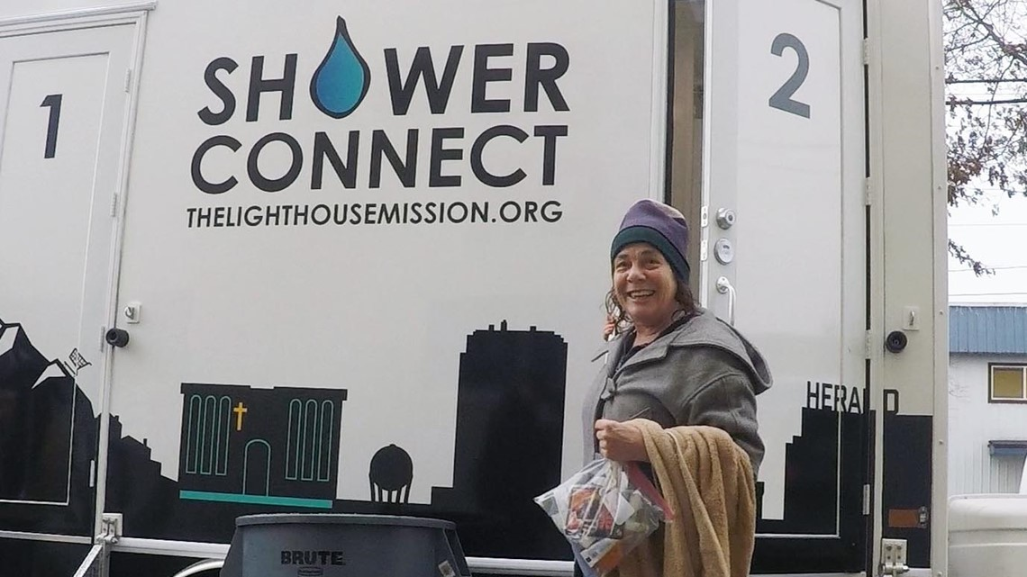 Bellingham Gas Prices >> New mobile showers for the homeless hit the streets of Bellingham | king5.com