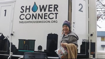 New mobile showers for the homeless hit the streets of Bellingham