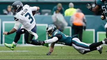 Seahawks record goes 9-2 with a road win over the Eagles