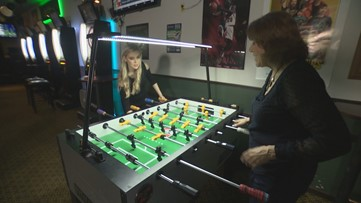 Meet the local mom and daughter featured in the pro foosball documentary - KING 5 Evening