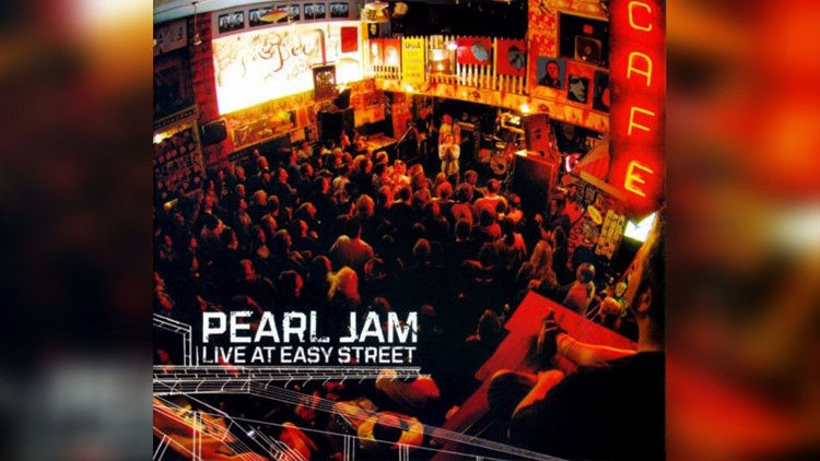Pearl Jam Live at Easy Street - Album release