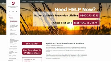 FCC recommends a separate 3-digit phone number for national suicide prevention hotline