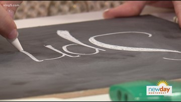 Learn chalk lettering from the Chalk Boss herself - New Day Northwest