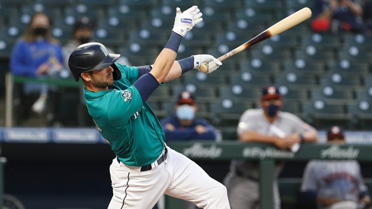 France delivers game-winning hit, Mariners drop Astros 6-5