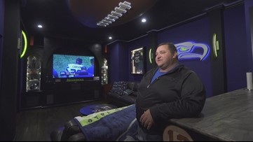 This Auburn estate is home to a Seahawks fan cave - Unreal Estate - KING 5 Evening