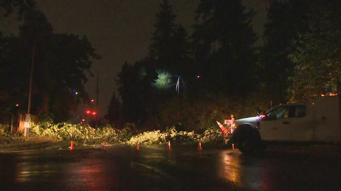 Winds, storms lead to power outages across western Washington