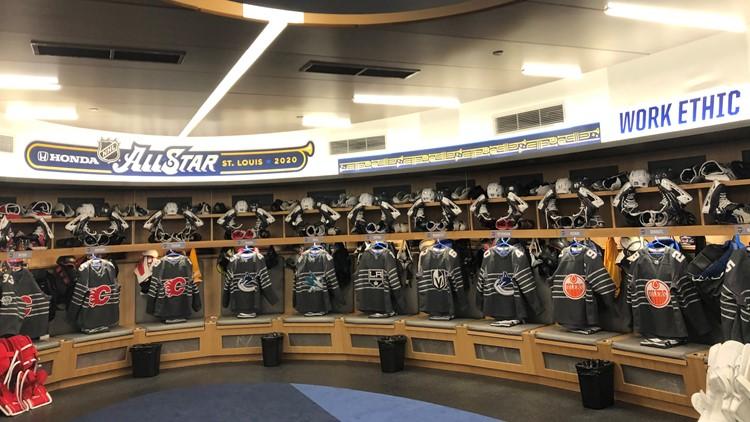 NHL jersey room All-Star