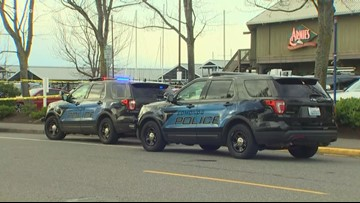 Book shielded woman in Edmonds shooting, witnesses say