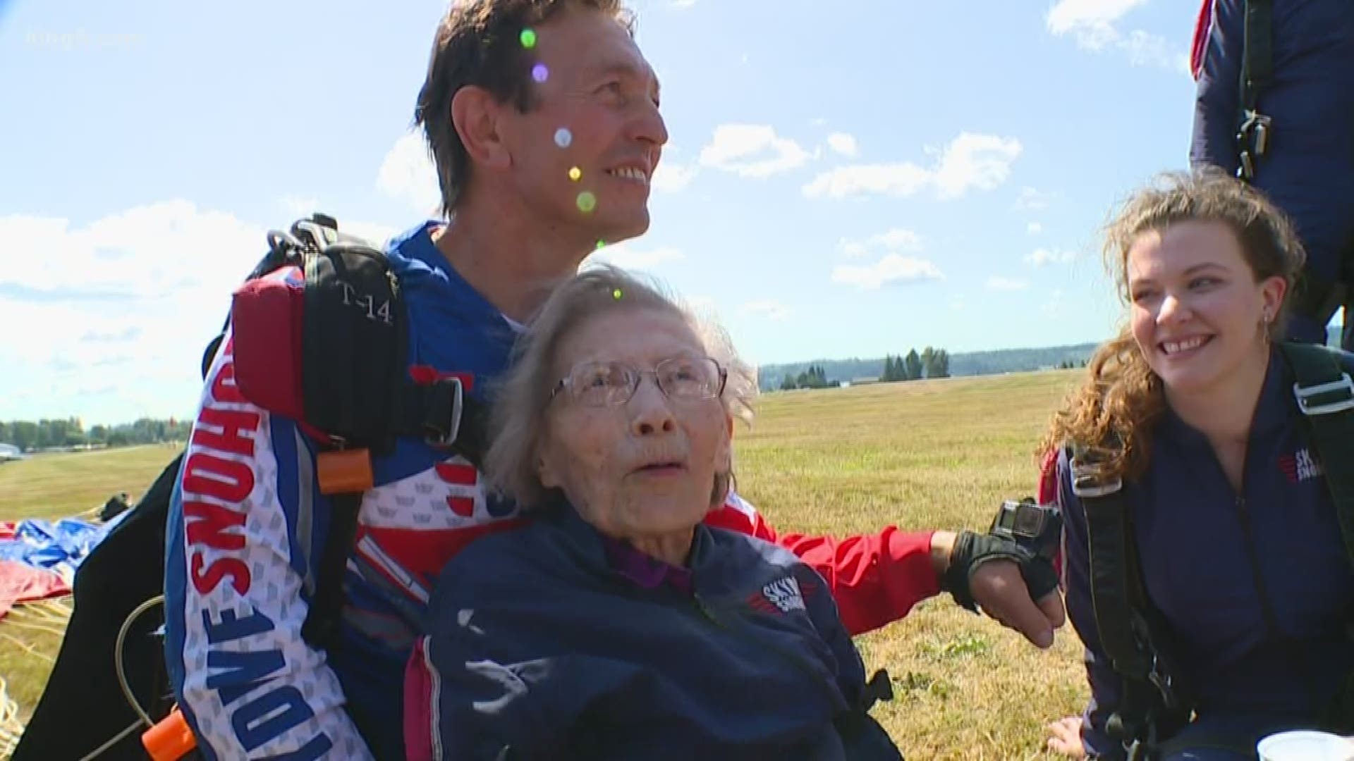 103-year-old Seattle woman jumps out of plane hoping to ...