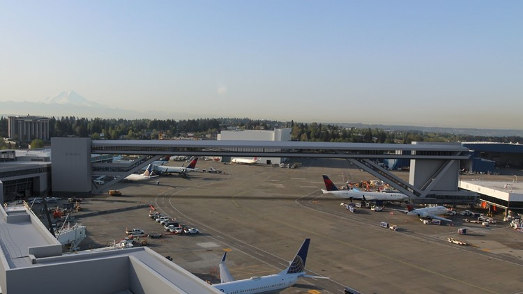 Massive pedestrian walkway at Sea-Tac Airport becoming a reality