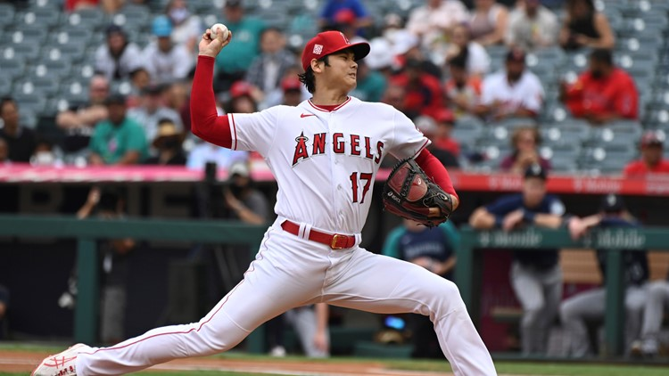 Ohtani done on mound in his standout 2-way season for Angels