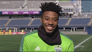 Welcome to Sounders FC Defender Saad Abdul-Salaam - KING 5 Evening
