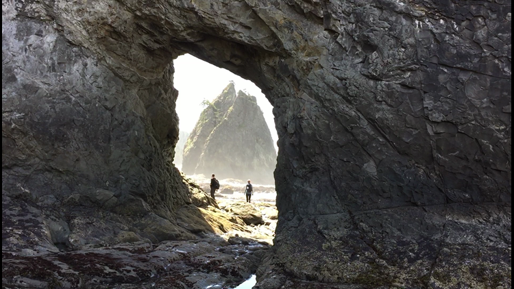Short hike to a cool place: Rialto Beach