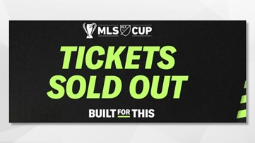 Sounders fans searching online for tickets to sold-out MLS Cup in Seattle