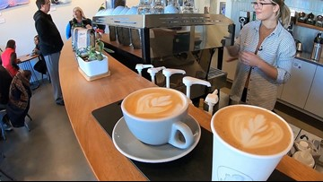 Treat yourself to a latte and give back to local non-profits at Bellevue coffee shop