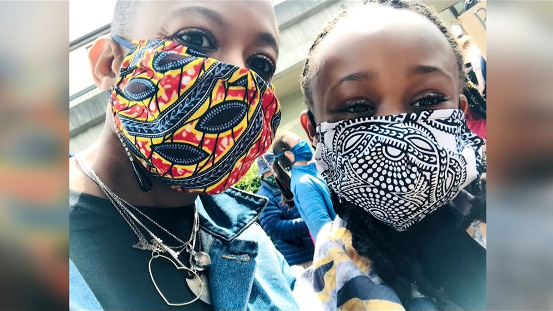 Northwest Designers Create Fashionable Face Masks King5 Com