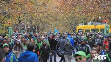 Sounders MLS Cup fans