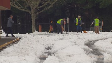 South Sound slowly recovering from winter blast