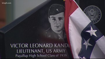 Medal of Honor recipient killed in WWII honored with memorial in Puyallup