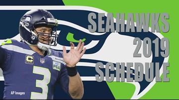 Seattle Seahawks 2019 season schedule