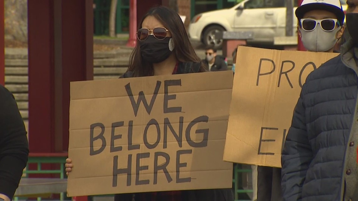 Federal bill aimed at fighting anti-Asian hate could help track hate crimes in Washington