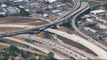 SB I-5 lanes in Tacoma to shift to final alignment this weekend