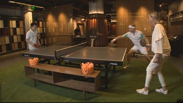 """""""Spinbledon"""" comes to Seattle's ping pong palace"""