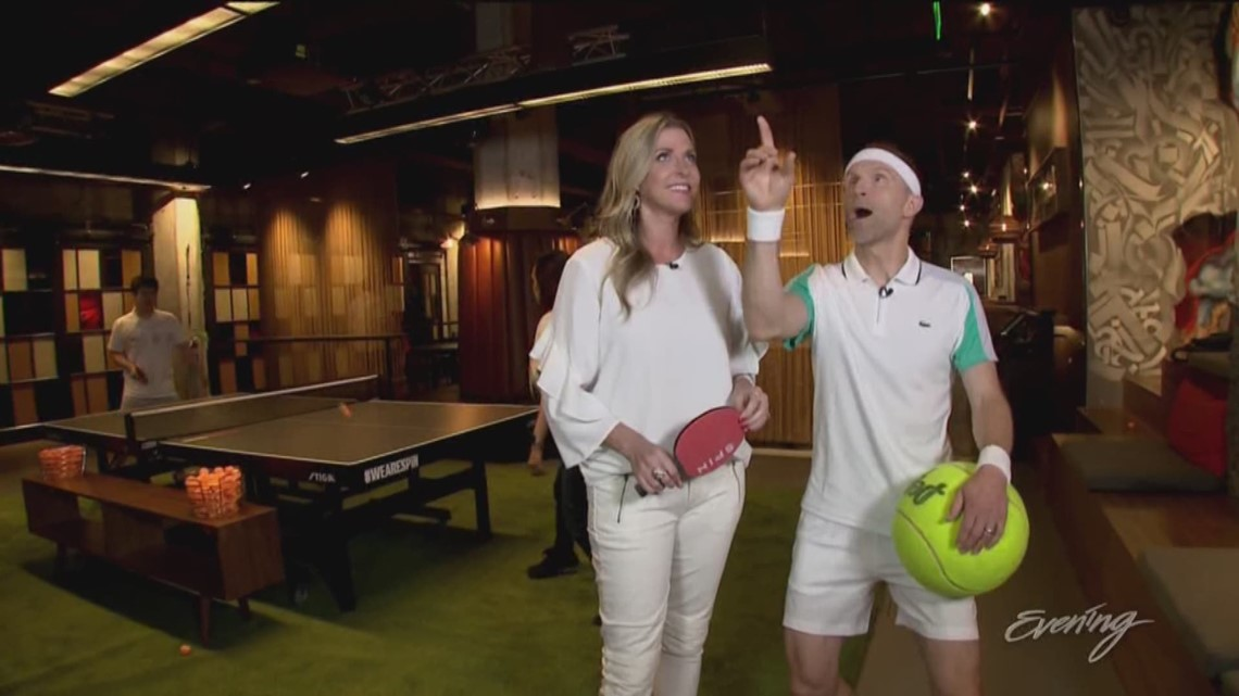 Thurs, 7/11, Spin Ping Pong Social Club in Seattle, Full Episode, KING 5 Evening