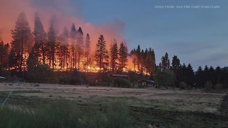 'Megafire' declared near Mount Rainier after exceeding 100,000 acres