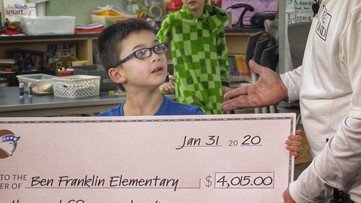 8-year-old Vancouver boy pays off his school's lunch debt - 12 Under 12