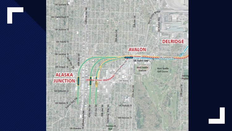 Seattle leadership suggests underground light rail for West Seattle