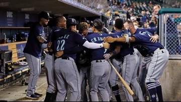Seager, Murphy combine for five homers in Mariners win
