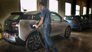 Charge up your test drive this weekend in Olympia