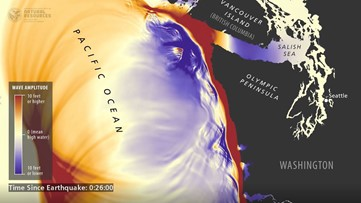 Tsunami simulations for Washington show what could happen after 9.0 earthquake