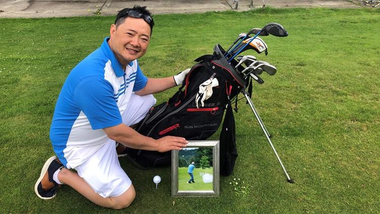 Lottery golf tournament