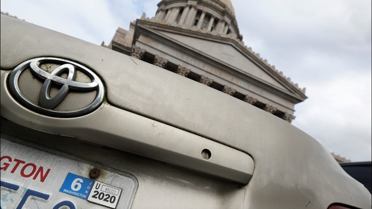 Voter-approved Initiative 976 to lower car tabs unconstitutional, state supreme court rules
