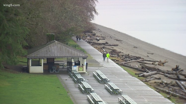 Tacoma's Owen Beach undergoing makeover to protect against rising sea levels